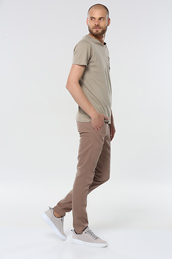 Slim Fit Erkek Chino Pantolon